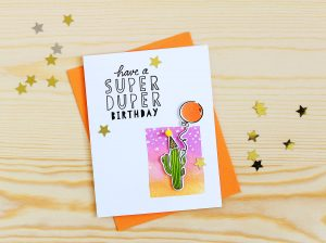A Super Duper (Cactus) Birthday!
