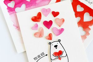 A Beary Swatchy Card!