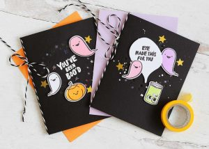 SIX Quick Halloween Cards!