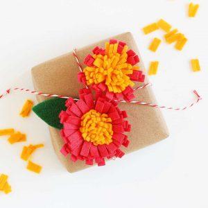 Never ending felt flowers!