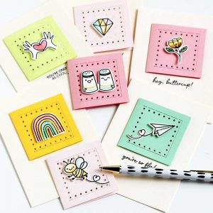 Mini notes for all your besties!