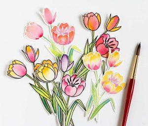 Mondo Tulips, 5 ways!