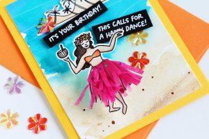 Hula Girl Birthday!